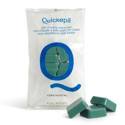 Quickepil wosk do depilacji twardy bezpaskowy do depilacji vegetal 1 kg zielony
