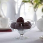 Patera na owoce  owocarka na nóżce szklana edwanex lena 19 cm
