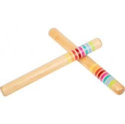 Klawesy - pałeczki perkusyjne z paseczkami