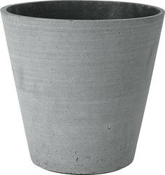 Doniczka coluna ciemnoszara 24 cm