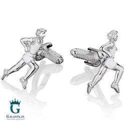Spinki do mankietów maratończyk kc-755 onyx-art london