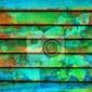 Fototapeta rytmiczne serii drewniane kolorowe linie