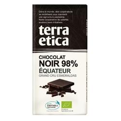 Terra etica | czekolada 98 ekwador | organic - fair trade