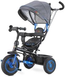 Toyz buzz navy rowerek trzykołowy z obracanym siedziskiem + prezent 3d