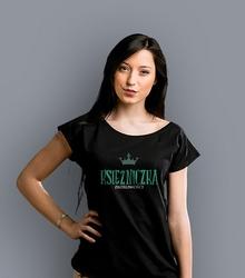 Księżniczka złośliwości t-shirt damski czarny s