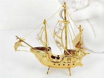Statek swarovski pamiątka