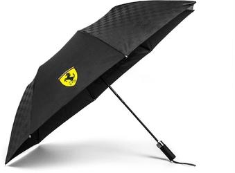 Parasolka scuderia ferrari compact czarny - czarny