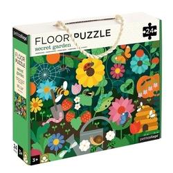 Puzzle podłogowe petit collage - ogród  3+