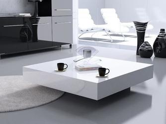 Stolik kawowy magic small quadrat 80 wys. 30 - biały