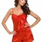 Donna eva 12 czerwona piżama damska