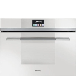 Piekarnik elektryczny z mikrofalą smeg sf4140mcb biały - dostawa gratis