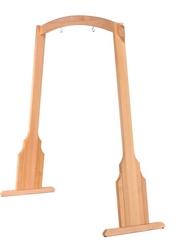 Drewniany stojak na gong do średnicy 80 cm