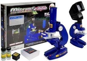 Mikroskop dziecięcy edukacyjny 100x 200x 450x