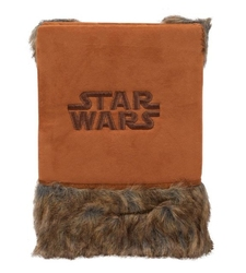 Star wars ewok furry puchaty notes a5 w linie