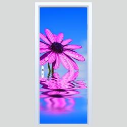 Fototapety na drzwi kwiat 605a
