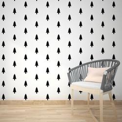 Scandinavian tree - tapeta na ścianę , rodzaj - tapeta flizelinowa laminowana