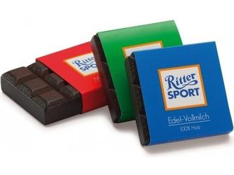 DREWNIANE CZEKOLADKI 3 smaki Ritter Sport