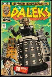 Doctor Who Komiks daleków - plakat z komiksu
