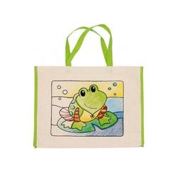 Żabka torba plażowa do kolorowania