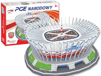 Puzzle 3D: PGE Narodowy