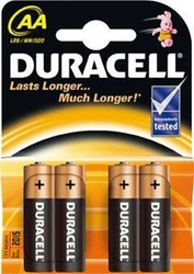 Duracell, lr06 aa baterie, 4 sztuki