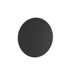 Loft decora :: koło metalowe na magnesy border czarne