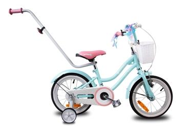 Sun baby little bmx 14 gwiazdka turkusowy rowerek dla dziecka