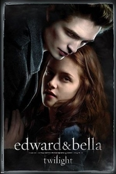 Twilight edward, bella - plakat