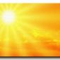 Słonecznie - obraz na płótnie