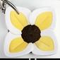 Kwiat lotosu do kąpieli blooming bath - żółty