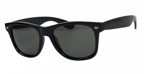 Okulary z polaryzacją nerdy  czarne