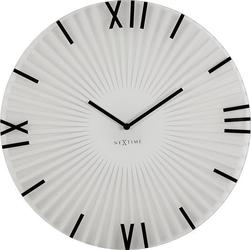 Zegar ścienny sticks white