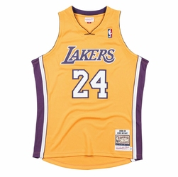 Koszulka Mitchell  Ness NBA Kobe Bryant 2008-09 Los Angeles Lakers Authentic - AJY4GS18450-LALLTGD09KBR - Home