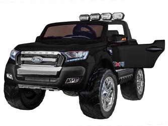 Ford ranger 4x4 czarny dwuosobowe auto dla dzieci +kluczyki + pilot