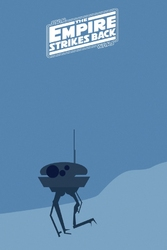 Star wars gwiezdne wojny imperium kontratakuje - plakat premium wymiar do wyboru: 42x59,4 cm