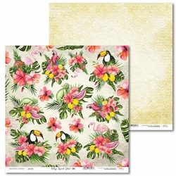 Ozdobny papier Vintage Tropical Island 30,5x30,5 cm - 06 - 06