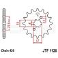 Zębatka przednia jt f1128-11, 11z, rozmiar 420 2201194 aprilia rx 50