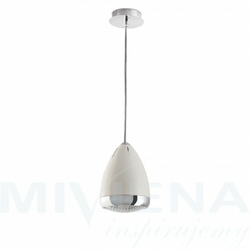 Lampetta lampa wisząca 1 biały 24 cm