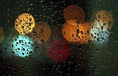 Kolory deszczu - plakat premium wymiar do wyboru: 120x90 cm