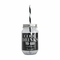 Słoik ze słomką Cool Drinks To Go Nicolas Vahe