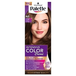 Palette intensive color creme, farba do włosów, n5 ciemny blond