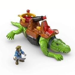 Imaginext kroczący krokodyl dhh63 2