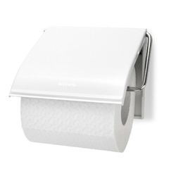 Brabantia - uchwyt na papier toaletowy - biały