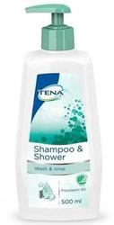 Tena shampoo  shower żel do mycia i szampon 500ml