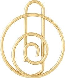 Spinacze monograph 15 szt. klucze wiolinowe