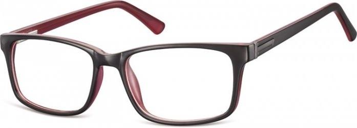 Oprawki zerowki sunoptic cp150f czarno+rozowe