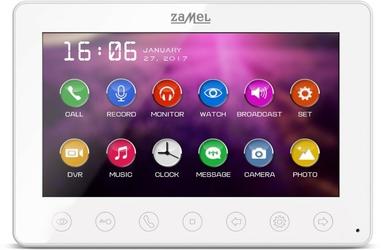Monitor wideodomofonu zamel 7 vp-808w - szybka dostawa lub możliwość odbioru w 39 miastach