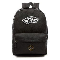 Plecak vans realm backpack custom gold rose róża - vn0a3ui6blk - gold rose