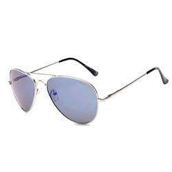 Granatowe pilotki męskie okulary aviator filtr drm-38c12