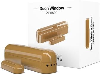 Fibaro doorwindow  sensor j. brąz czujnik otwarcia drzwi lub okna - szybka dostawa lub możliwość odbioru w 39 miastach
